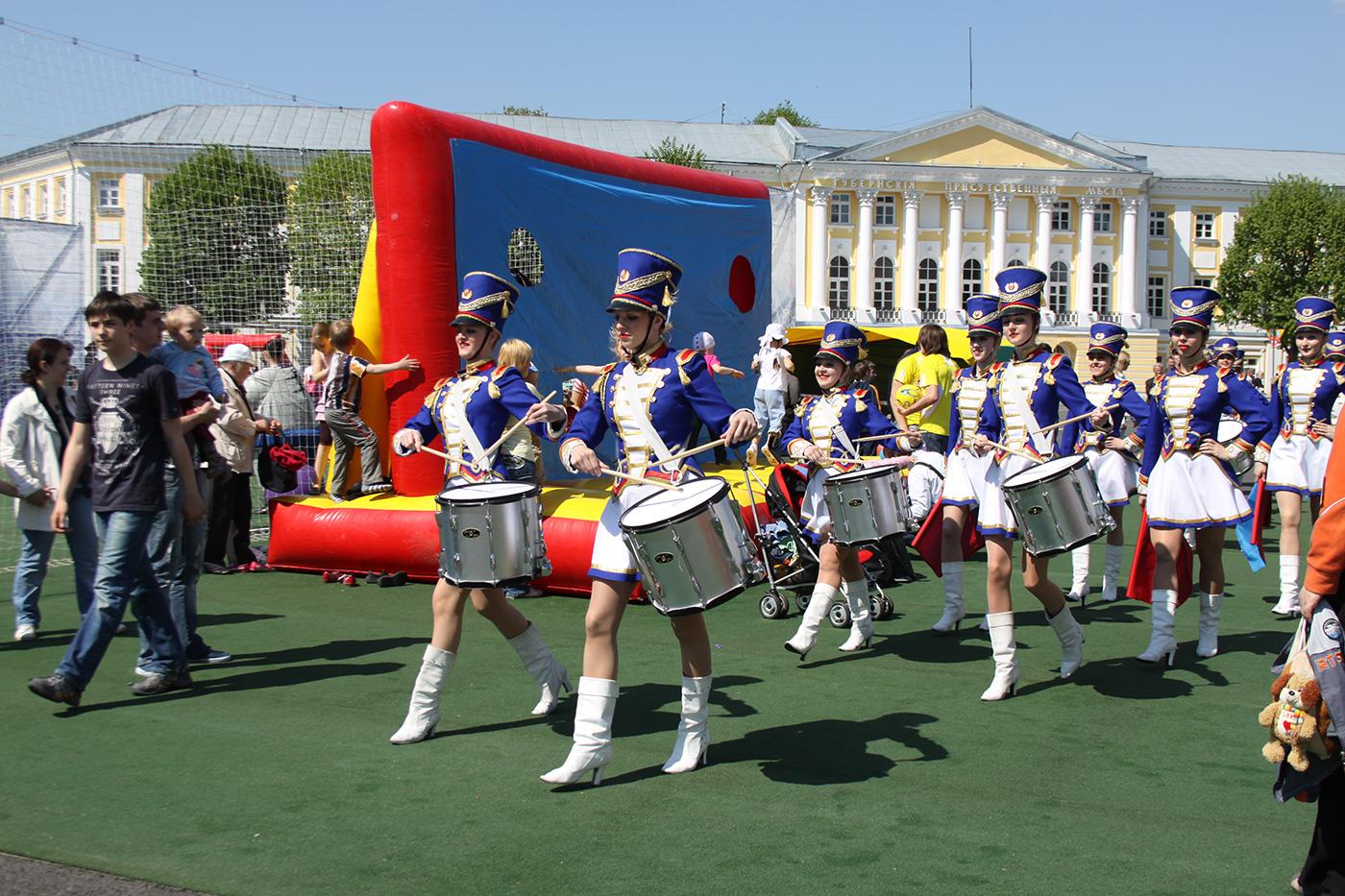 День футбола в городе Ярославль