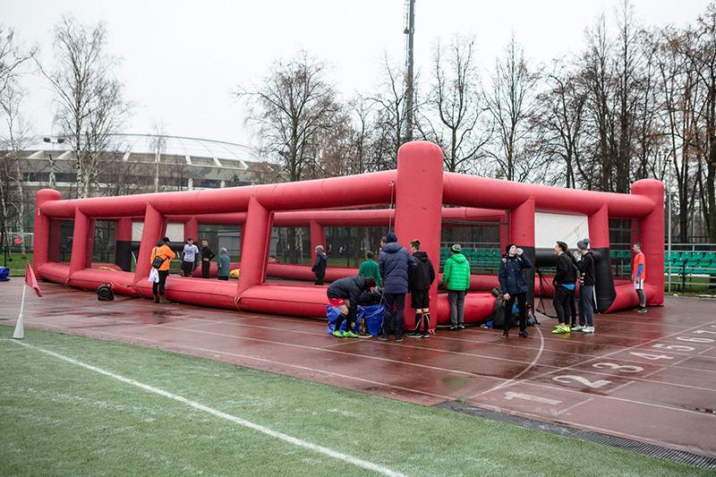 Футбольный праздник в Лужниках