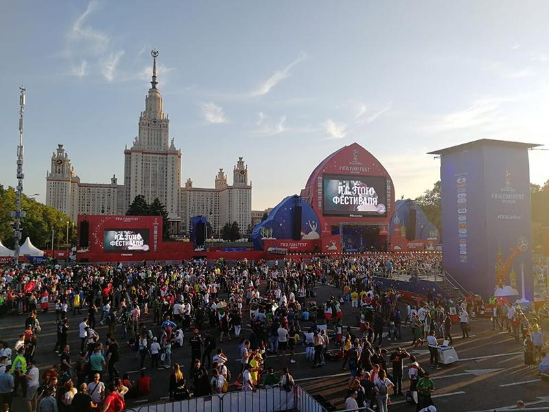 Открытие чемпионата мира по футболу - Организация фан-зон